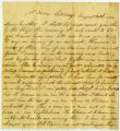 Letter, A. Shaw to Mary Shaw;  8/30/1862