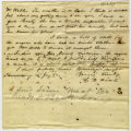 Letter, H. W. Foote to Mr. Wells; 3/16/1862