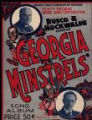 Rusco and Hockwald's Famous Georgia Minstrels'