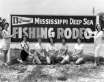 13th Annual Deep Sea Fishing Rodeo Billboard