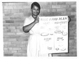 Vivian Thornton-Johnson with Poster