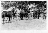 African-Americans with horses