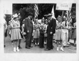 Governor Bailey at 4-H parade