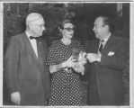 Pauline Trigre, with Boswell Stevens and Robert F. Wagner