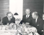 Senator John C. Stennis in Washington, D.C. at luncheon