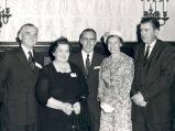 Senator John C. Stennis in Washington, D.C. with constituents