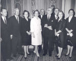 Senator John C. Stennis in Washington, D.C. at US Chamber of Commerce Meeting
