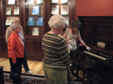 Jessica Ramage Leads Tour of Museum