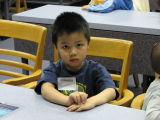 Child at Conference
