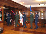 Color Guard for Montgomery Awards