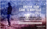 ...And the Rain Came to Mayfield, program