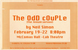 The Odd Couple, poster (1997) (Female Version)