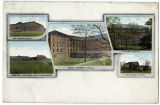 Old Main, Chapel Building, Mess Hall, Wood Shop